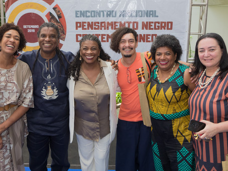 Zezé Motta e Luiz Cuti abrem o Encontro Nacional Pensamento Negro Contemporâneo