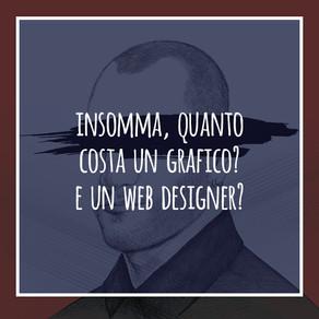 quanto costa un grafico? e un web designer?