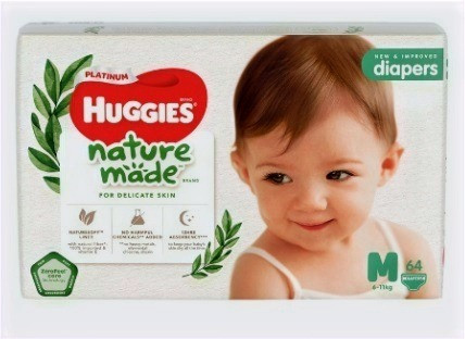 Huggies Platinum Naturemade diapers