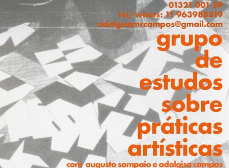 Grupo de Estudos com Adalgisa Campos e Augusto Sampaio na Casateliê