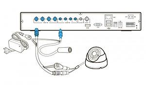 Подключение микрофона в системах видеонаблюдения комбинированным кабелем