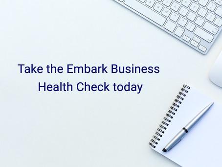 Take the Embark Business Health Check