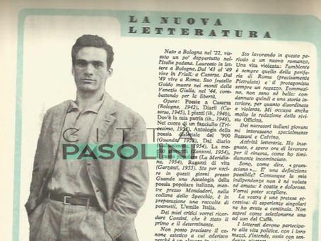 La nuova letteratura. un'intervista a Pier Paolo Pasolini (1955)