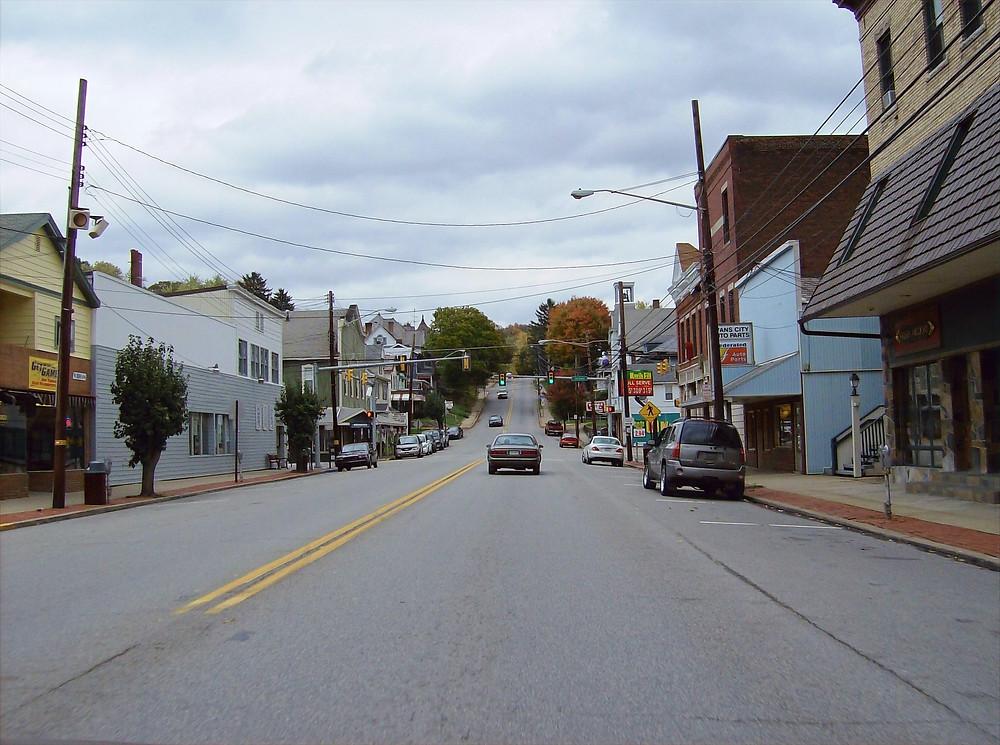 FILE PHOTO: Evans City, Pennsylvania   Image: Wikimedia / Public Domain