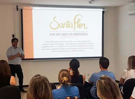 Agroecologia terá enfoque especial na Santa Flor 2019