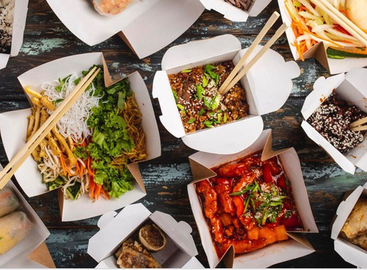 Is it safe to get takeout or delivery food?