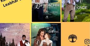 Conheça os títulos da Katharine Ashe publicados pela Leabhar Books