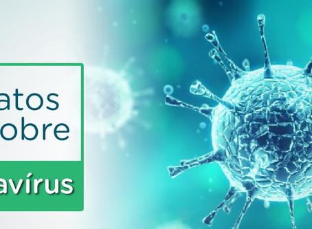Cinco fatos sobre o coronavírus