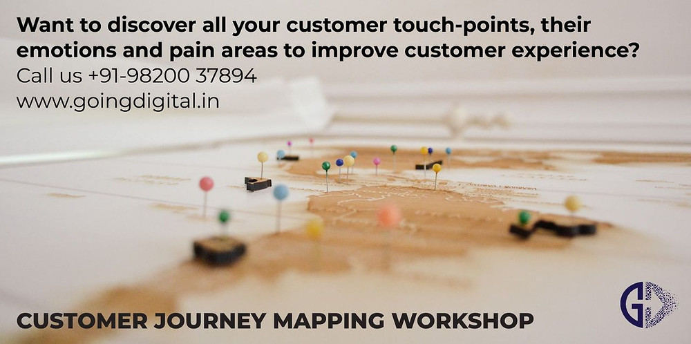 Customer Journey Mapping workshop by Going Digital