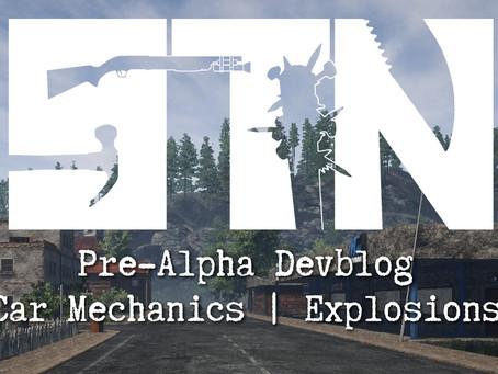 Pre-Alpha Devblog #28 (Vehicle Damage | Town Signs | Patch 0.11.28)