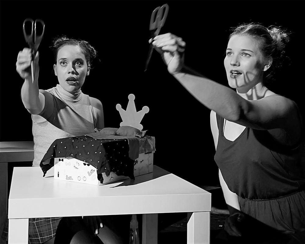 Kara Chamberlain and Natalia Knowlton in CREAM PIE at Brighton Fringe 2016