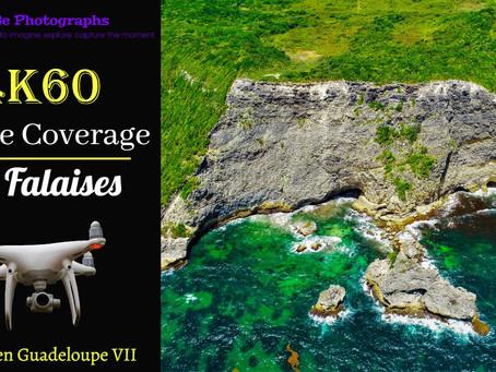 4K/60fps Drone Coverage | Cliffs of Le Moule, Guadeloupe