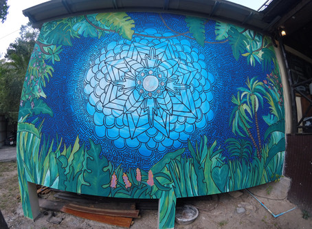 Murals, Molly and Thailand.