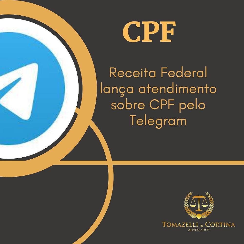 cpf pelo telegram