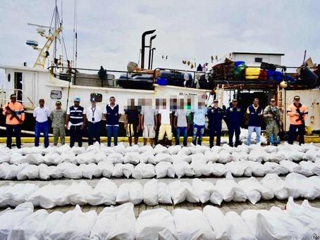 Inmovilizada embarcación en San Andrés Islas por pesca ilegal