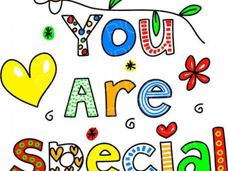 Minister's Monday Moment - God thinks you're special