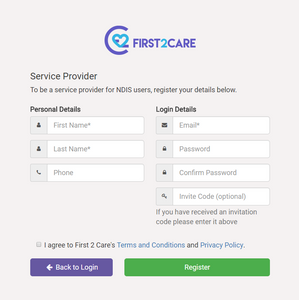 Access business growth by signing up to First2Care