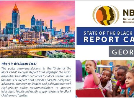 State of the Black Child Georgia Webinar