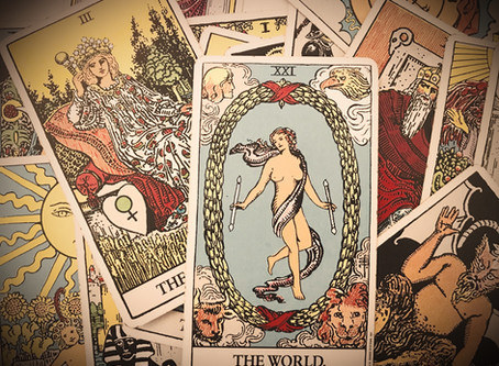 THE WORLD Tarot Combinations with All Major Arcana Cards