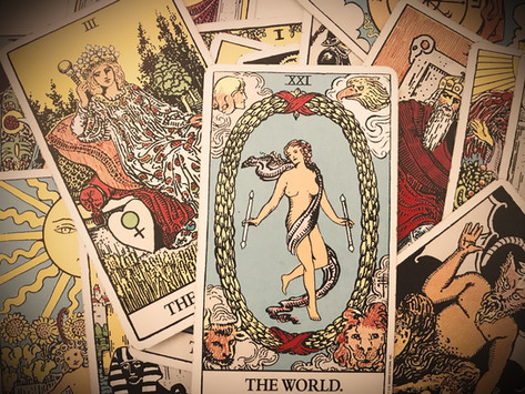 THE WORLD Tarot Combinations with All Major Arcana Cards