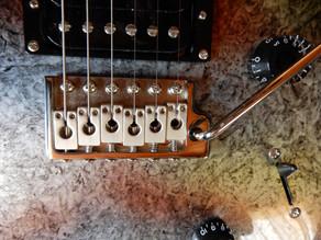ギターのオクターブ調整