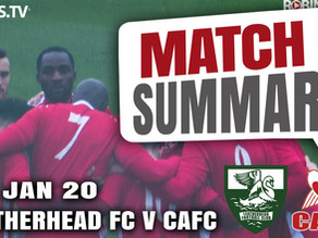 Match summary - Leatherhead
