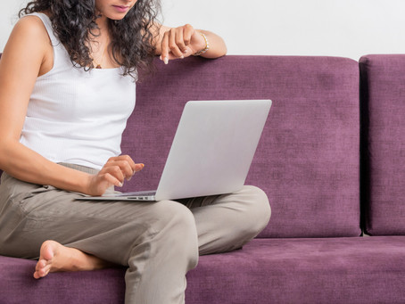 Couch Conversations: How to be Productive While Working from Home