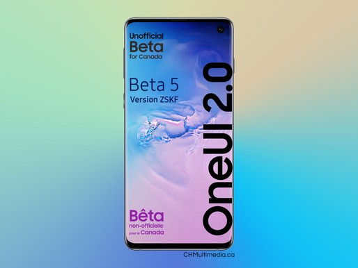 OneUI 2 - Beta 5 Available