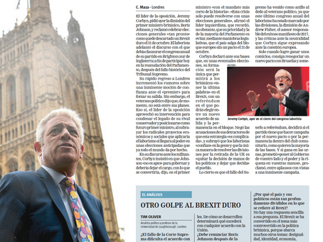 Explaining Brexit in La Razón