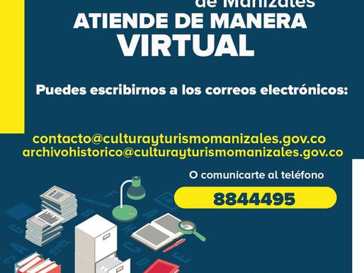 ARCHIVO HISTÓRICO BRINDA ATENCIÓN DE MANERA VIRTUAL