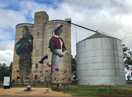 STREET ART HUNTING IN NORTHERN VICTORIA