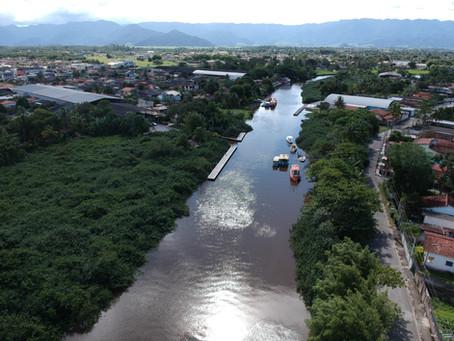 Juqueriquerê - O maior rio navegável do Litoral Norte SP