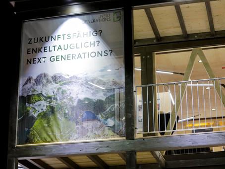 Eröffnung des Showcase in Davos