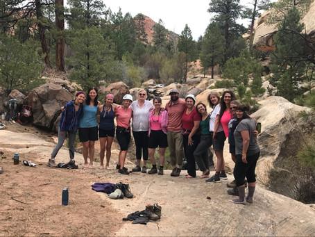 2020 Women's Retreat.  April 23rd-27th