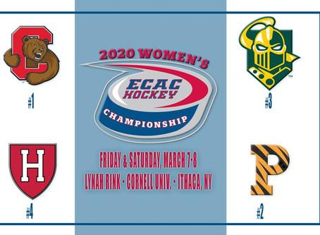 Cornell Women's Hockey Moves On To ECAC Championship