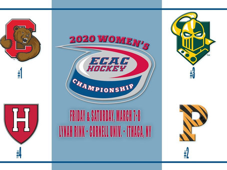 Cornell Women's Hockey Moves On To ECAC Championship