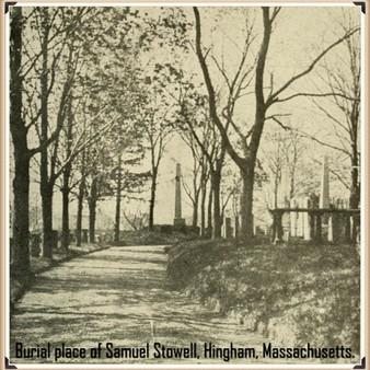 Samuel Stowell's burial