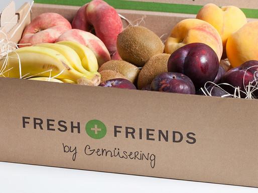 Fruta y verdura fresca para cuidar la salud de tu empresa.