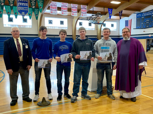Seniors In High School Join Knights