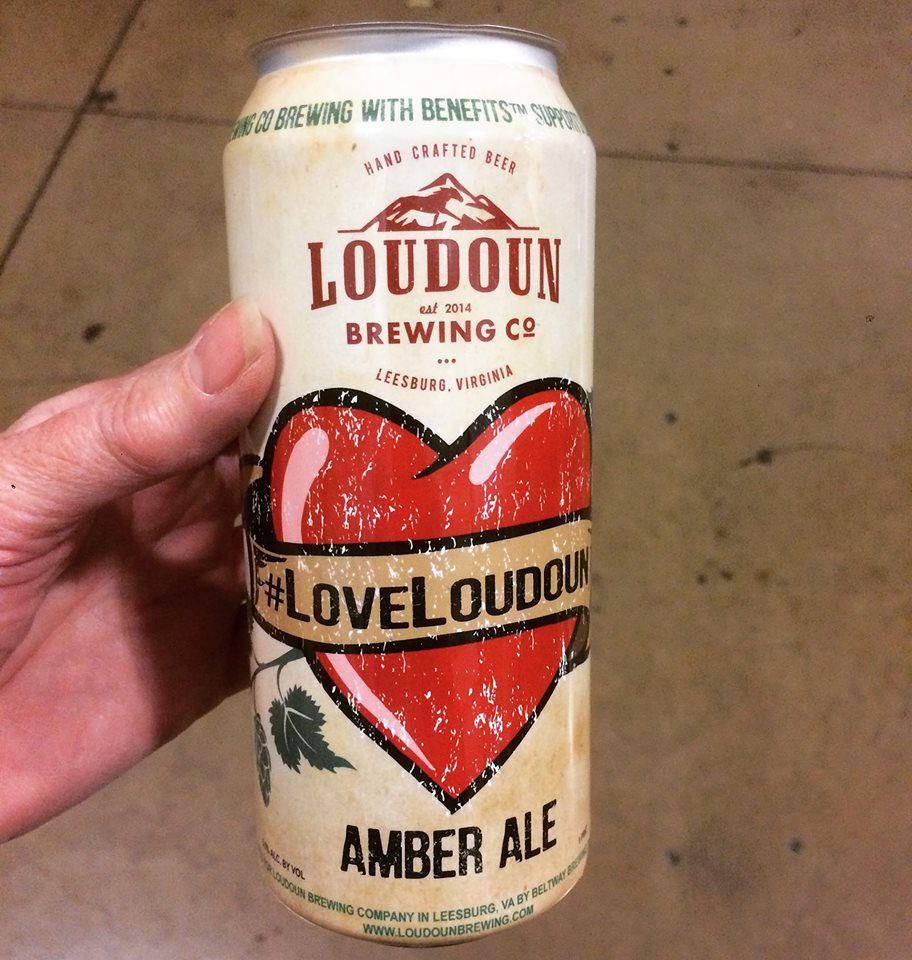 #LoveLoudoun beer can