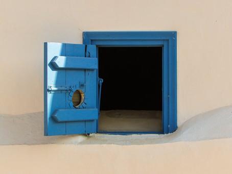 Keep that door open!