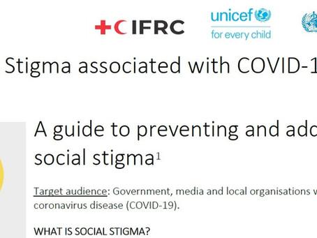 Social Stigma associated with COVID-19