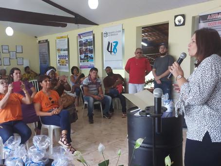 Bia Kicis se reúne com representantes de CTs em Brasília