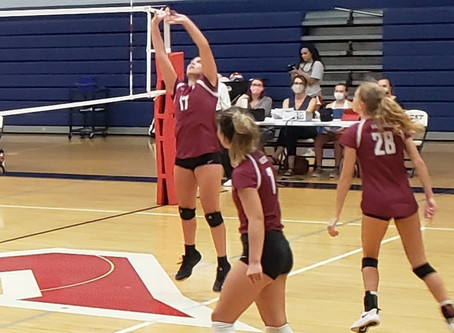 Lady Wildcat Volleyball Wins at West 3-1