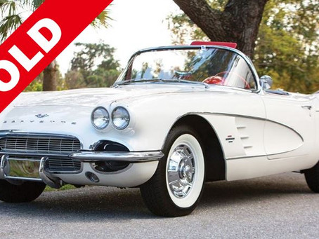 1961 CHEVROLET CORVETTE (SOLD)