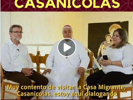 Visita el Señor Arzobispo a Casanicolás