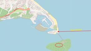 Cayo Buba - Petite île où un nouvel hôtel est en construction