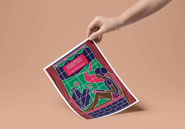Poster - Atonement - Ian McEwan