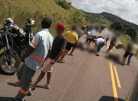 VÍDEO: vereador atropela 30 motociclistas e deixa dois mortos. IMAGENS FORTES!