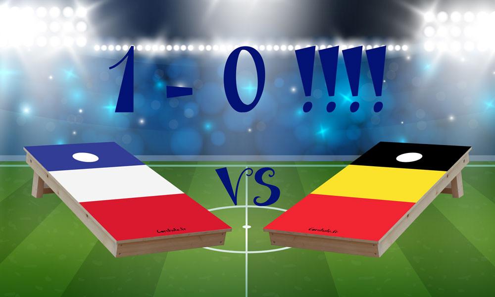 France Belgique 1 -0 ! Allez les bleus !!